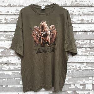 Anchorage Alaska right to bear arms t-shirt